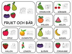 Teckenkartor – Fröken Ljusta Sign Language Book, Sign Language Phrases, All About Me Book, Learn Swedish, Swedish Language, French Worksheets, School Signs, Farm Theme, Pre School