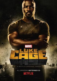 Luke Cage promo poster - Mike Colter as Luke Cage