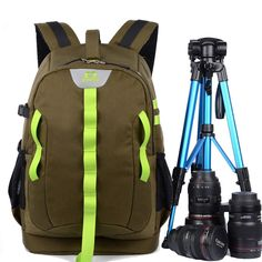 54.90$  Buy here - http://alitqr.shopchina.info/go.php?t=32802868133 - 2017 New Multifunctional Digital DSLR Camera Backpack Oxford Cloth Photography Bag Laptop Case Anti Theft For Canon Nikon Sony   #buychinaproducts