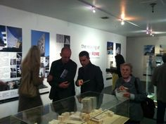 """Opening of """"The Making of (a New) Rome"""" exhibition at the Istituto Italiano Di Cultura Los Angeles (January 2014)."""