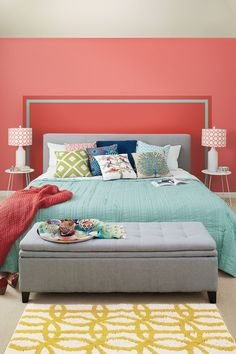 Simple Solutions: Painted Headboard & 101 Headboard Ideas That Will Rock Your Bedroom | Home Decor ...