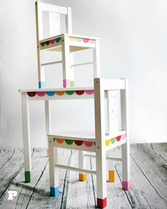 Have your kids help you add some character to their Kritter furniture with vinyl adhesive sheets.
