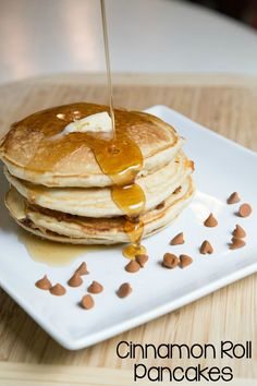 Cinnamon Roll Pancakes Recipe | 5DollarDinners.com