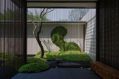 香港置地卓越集团·林山郡 / 沃亚景观 Chinese Architecture, Landscape Architecture, Landscape Design, Garden Design, Asian Garden, Chinese Garden, Patio Interior, Interior And Exterior, Modern Tropical House