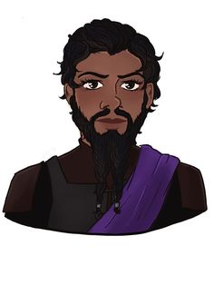 Talin from the young adult fantasy novel Sand Dancer.  AKA Lord Talin and the Protector of the Path. He's a legendary hero who adopts main character Mina into the noble House Arlbond. Though he's got some secrets, too...