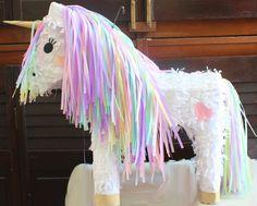 Custom Unicorn Piñata / Pony Piñata with by BalloonandPaper