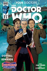 DAVID TENNANT NEWS FROM WWW.DAVID-TENNANT.COM: Titan Comics Reveal Doctor Who: Four Doctors Exclusive Variant Covers