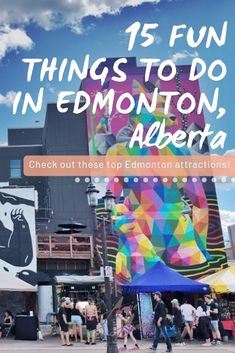 Looking for things to do in Edmonton, Alberta? We've got lots of tips for your next summer vacation in Canada! Check out the resorts, activities and restaurants throughout Edmonton. See you there!