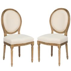 Furniture :: Chairs :: Cameo Natural Oak Side Chairs