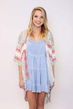 Blossom & Bloom Printed Kimono
