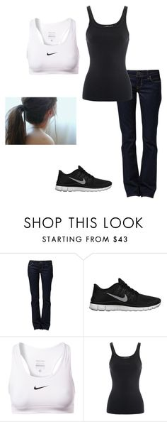 """""""Kay- Chapter 9"""" by cheyannemills ❤ liked on Polyvore featuring GUESS, NIKE and Ralph Lauren"""