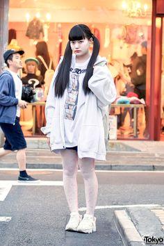 Gyoza-chan, 20 years old | 31 May 2016 | #Fashion #Harajuku (原宿) #Shibuya (渋谷)…