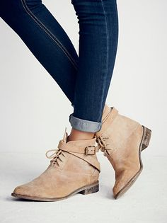 Meray Lace Up Boot at Free People Clothing Boutique