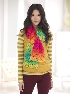 Over The Rainbow Scarf (Crochet)