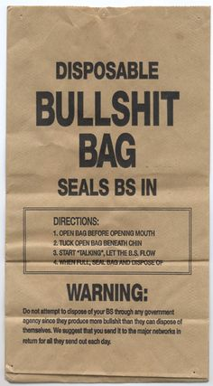 I could give these bags to people from the moment i step out side of my apartment.