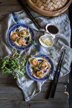 Pumpkin & ginger dumplings - clean and fresh flavours, and oh-so tasty | heneedsfood.com