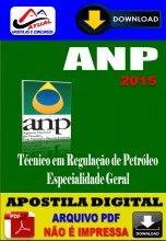 Apostila Digital Concurso ANP Tecnico em Regulacao de Petroleo 2015