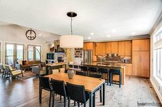 Suncrest Homes worked with these owners to create an open floor plan that worked for them. Home Trends, Open Floor, New Homes, Floor Plans, Flooring, How To Plan, Create, Places, Table