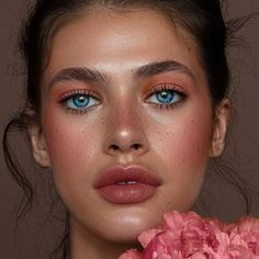 What do you think? Natural Dewy Makeup, Cool Face, Close Up Portraits, Gorgeous Eyes, Beautiful, Photos Of Women, Unique Photo, Beauty Skin, Makeup Looks