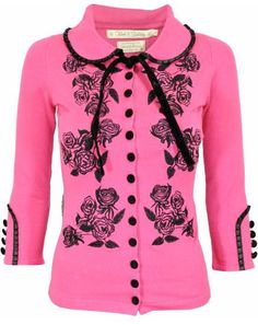 Wheels & DollBaby/Dita Von Teese cardigan…  want this is in EVERY colour they do!