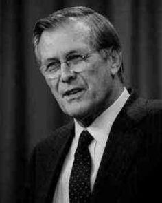 Donald Rumsfeld quotes quotations and aphorisms from OpenQuotes #quotes…