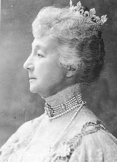 Her Royal Highness the Duchess of Chartres (1844–1925) nee Princess Francoise d'Orleans