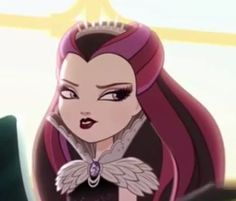 Disney, Ever After High, Harry Potter,various anime and cartoon shows and movies Ever After High, Aarmau Fanart, Ever After Dolls, Raven Queen, Cute Profile Pictures, Cartoon Icons, Monster High, Anime Art, Fangirl