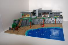 Large Beach House: A LEGO® creation by Michael Derr : MOCpages.com