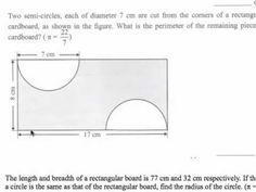 Question 2 - Circles