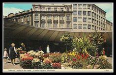 'Hole in the Road' - Castle Square, Sheffield #socialsheffield #sheffield