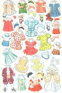 27 dancing school paper dolls 4