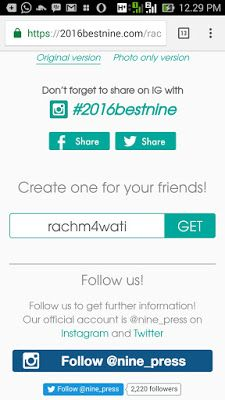 Rachma ♥ رَّحْمَ : Trend Kekinian Best Nine