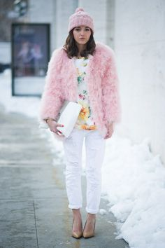 Mode-Trend 2014: die weiße Jeans