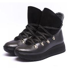 Женские зимние ботинки с высоким язычком c2ae4f7df1898