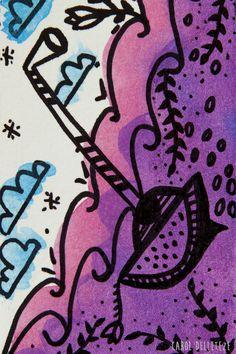 Submarino - Background e Wallpaper criados por Carol Delleteze. Desenhos originais, únicos, feitos a mão disponíveis para download.  #caroldelleteze #background #wallpaper #submarino #desenholudico #arte #art #handmade #illustration