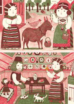 illustration - Ana Albero / ILLUSTRATION