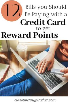 credit card rewards If youre not using credit card reward points to travel for free then youre missing out! Here are 12 bills that you should be paying with your credit card to earn reward points Rewards Credit Cards, Best Credit Cards, Credit Card Points, Travel Rewards, Finance Blog, Make Money Fast, Budgeting Finances, Money Saving Tips, Money Tips