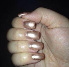Brown Metal Nails ❤️