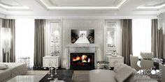 Trouvez les meilleures idées & inspirations pour votre maison grâce à nos experts.CONTEMPORARY CLASSIC - Projekt wnętrza rezydencji. par ArtCore Design | homify