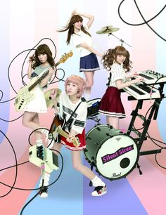 Silent Siren (band), Japanese. (2)