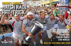 FRONTPAGE TODAY-  July 10th, 2014 Bjorn Hansen's  Swedish team make  this week's NC Sports frontpage following their impressive Hat-Trick at the Stena Match Cup. Plus ASP Big Wave Tour, Figarò Solo,Tour de France, Foling Week, Star Class Worlds .  Airs today at 17:00 CET on Nautical Channel.  Online tomorrow www.youtube.com/user/TVNauticalChannel