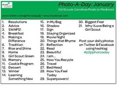 Photography Badge idea:  Photo A Day Challenge