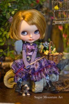 Purple Rain. Sugar Mountain Flannel Dress With by SugarMountainArt
