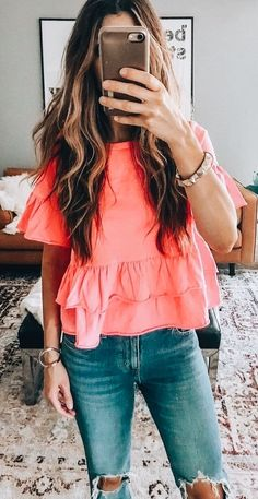 Winter Fashion Trends 2020 for Casual Outfits – Fashion Love Fashion, Girl Fashion, Fashion Outfits, Fashion Trends, Womens Fashion, School Looks, Spring Summer Fashion, Spring Outfits, Looks Jeans
