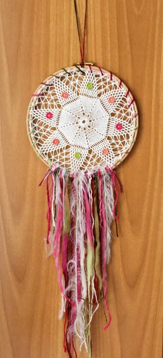 Lace Decor, Boho Decor, Doily Dream Catchers, Dorm Walls, Handmade Items, Handmade Gifts, Crochet Mandala, Dorm Decorations