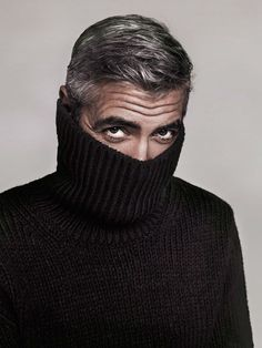 George Clooney in a turtleneck