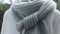 PIKOLI - einfachen Schal stricken