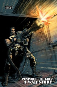 Punisher to start destroying Monsters in Punisher Kill Krew Man Kill, Total War, Punisher, Comic Books Art, Marvel Universe, Marvel Comics, Darth Vader, Movie Posters, Harp