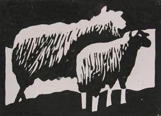 Linoleum snijden vind ik een spannende hobby. Het uiteindelijke resultaat is altijd een verrassing. En je kan dus linoleumafdrukken maken. Als