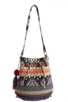ॐ American Hippie Bohemian Style Boho Tribal Bag! Ethno Style, Gypsy Style, Fashion Bags, Boho Fashion, Fashion Accessories, Mochila Crochet, Crochet Bags, Gypsy Bag, Estilo Hippy